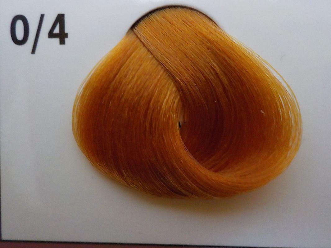 Barva na vlasy Subrina professional Unique 0/4 - mix tón zlatá