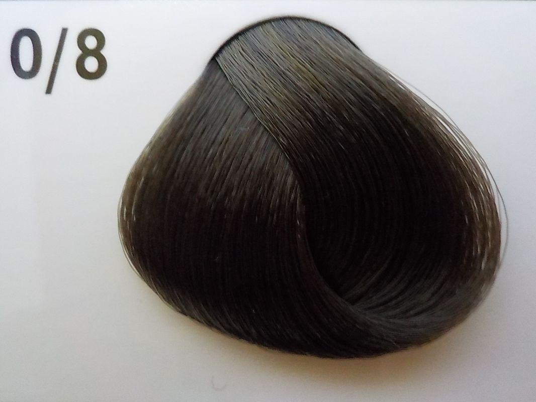Barva na vlasy Subrina professional Unique 0/8 - mix tón matná