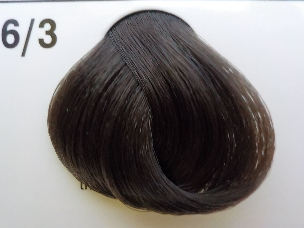 Barva na vlasy Subrina professional Unique 6/3 - tmavý blond cendre