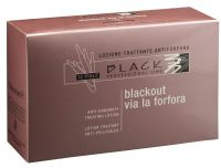 Black Anti-Dandruff Lotion 12x 10ml - Vlasové ampule proti lupům.