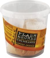 Black Flash Meches Colorante Cooper Orange 250g - barevný melír