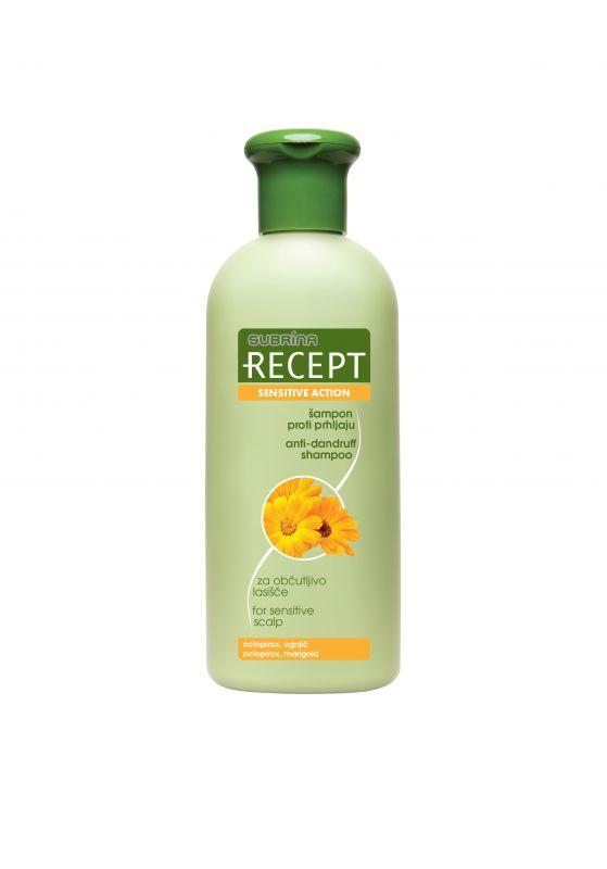 Subrina Recept šampon proti lupům na citlivou vlasovou pokožku 400ml