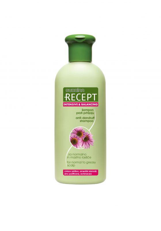 Subrina Recept šampon proti lupům na normální a mastnou vlasovou pokožku 400ml