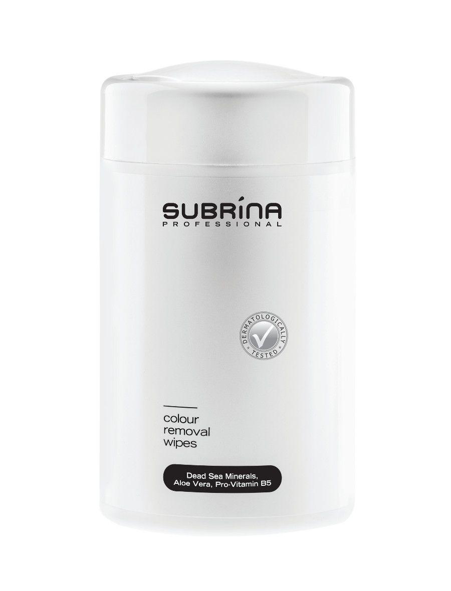 Čistící ubrousky Subrina 100 ks - na odstranění barvy z pokožky