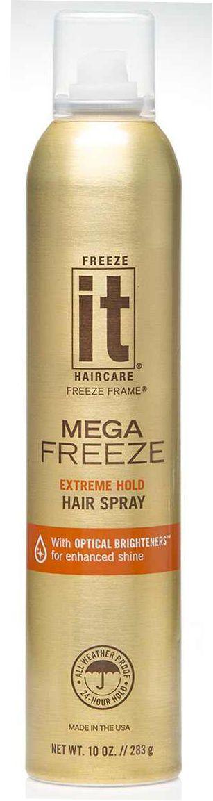 """Freeze it Mega (24 Hour Hold) 283g - lak na vlasy - Rychleschnoucí lak na vlasy """"zmrazovač""""."""