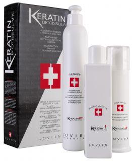 Lovien Keratin Biotissulare 3 fáze - keratinový systém na vlasy