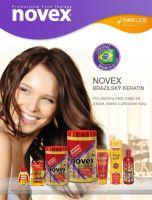 Novex keratin - vlasová kůra s keratinem 5 výrobků - Vlasová kůra s brazilským keratinem.