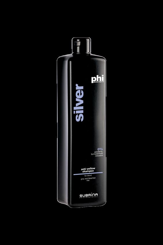 Subrina Anti-yellow shampoo 1L - Šampon pro zachování dokonalé blond barvy
