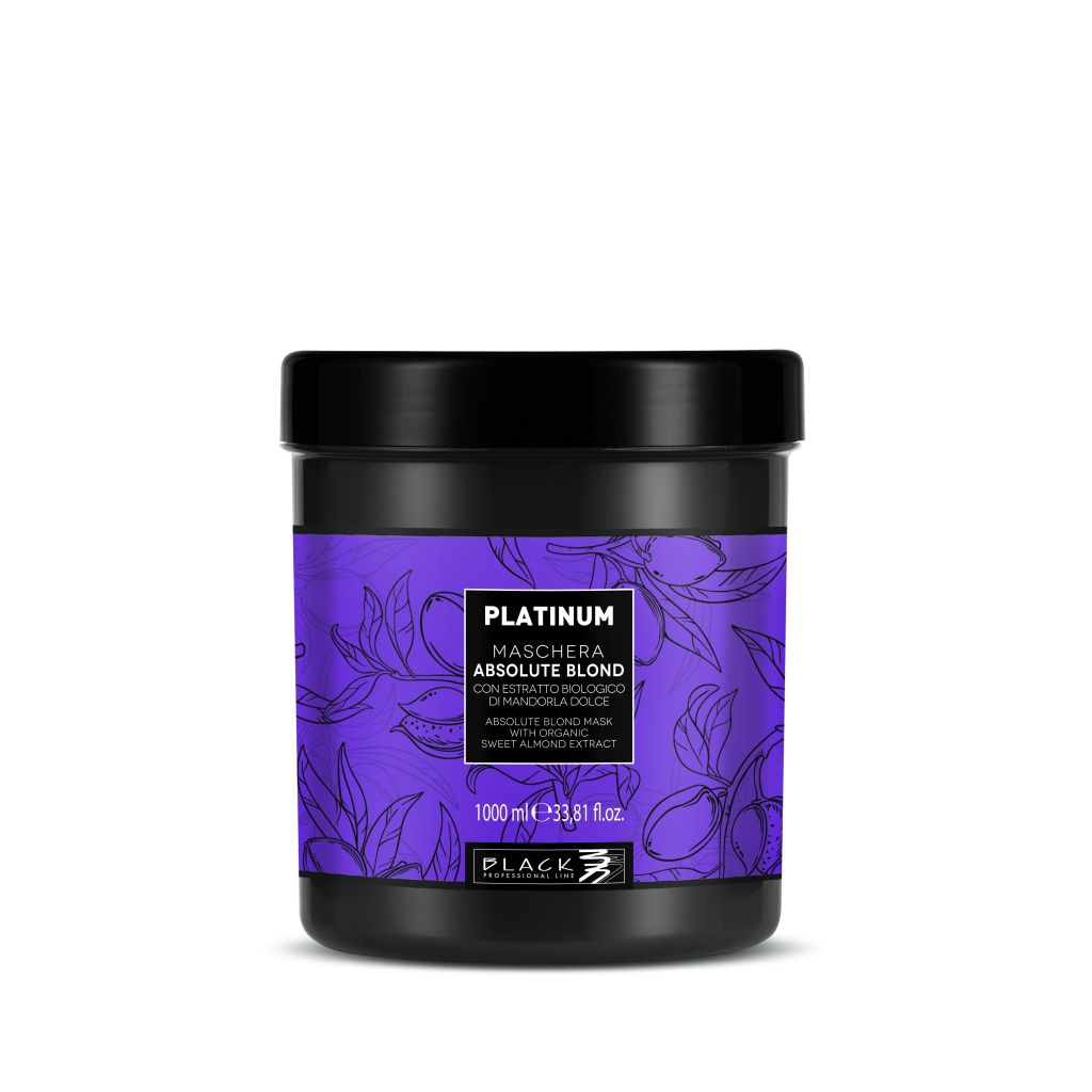 Black Platinum Mask Absolute Blond Maska pro blond vlasy 1000 ml