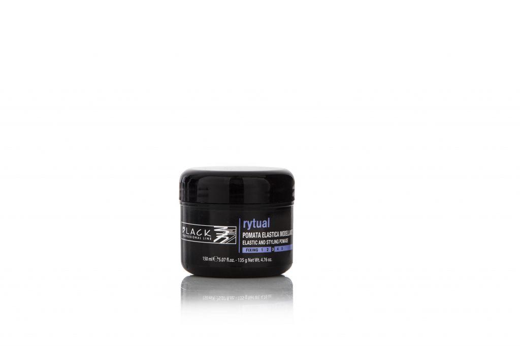 Black Rytual Elastic & Styling Pomade 150ml - Elastický modelační krém.