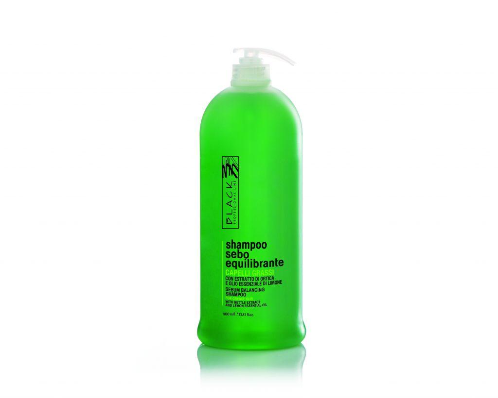 Black Shampoo Seboequilibrante 1000ml - šampon na mastné vlasy
