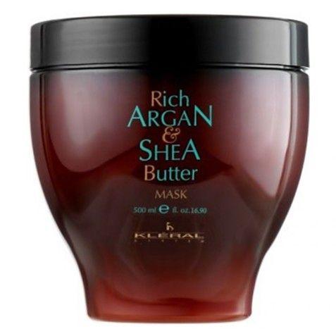 Kléral Argan & Shea Butter Mask 500 ml - maska s arganovým olejem Maska na vlasy s vysokým obsahem arganového oleje a bambuckého másla.