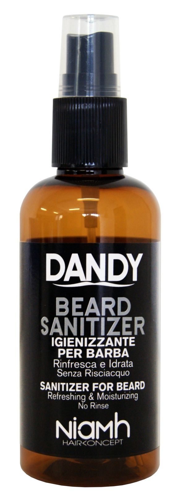 Niamh Hairkoncept Dandy Beard Sanitizer 100 ml - ochrana vašich vousů Bezoplachová ochrana vašich vousů.