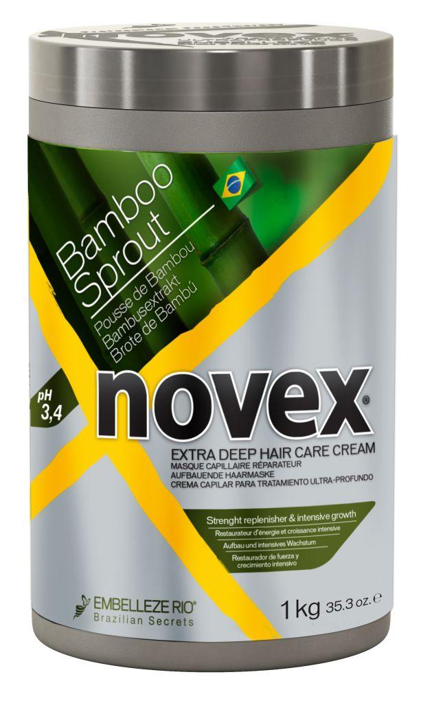 Novex Bamboo Sprout Deep Treatment Conditioner 1000 g - bambusová maska na vlasy