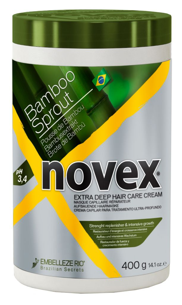 Novex Bamboo Sprout Deep Treatment Conditioner 400 g - bambusová maska na vlasy