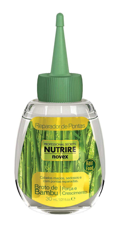 Nutrire Novex Bamboo Sprout Tips Fixer 30 ml - krystaly pro konečky vlasů