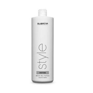 Subrina Blow-dry lotion - tekutý lotion s extra silnou fixací 1L - náhradní náplň