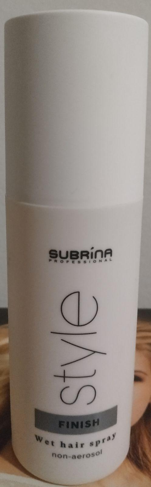 Subrina Wet hair spray - lak na vlasy s rozprašovačem extra silný 150ml