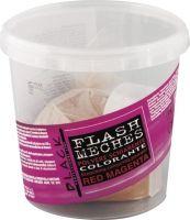 Black Flash Meches Colorante Red Magenta 250g - barevný melír