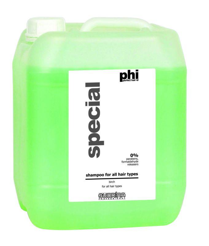 Subrina PHI Birch Shampoo 5lt - březový šampon pro všechny typy vlasů