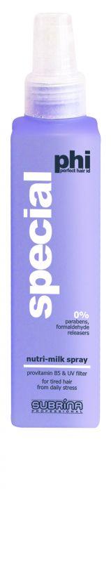 Subrina PHI Nutri Milk Spray 150ml - výživné mléko pro suché vlasy