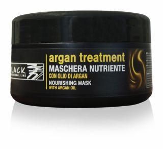 Black Argan Treatment Maschera 250 ml - arganová maska na vlasy
