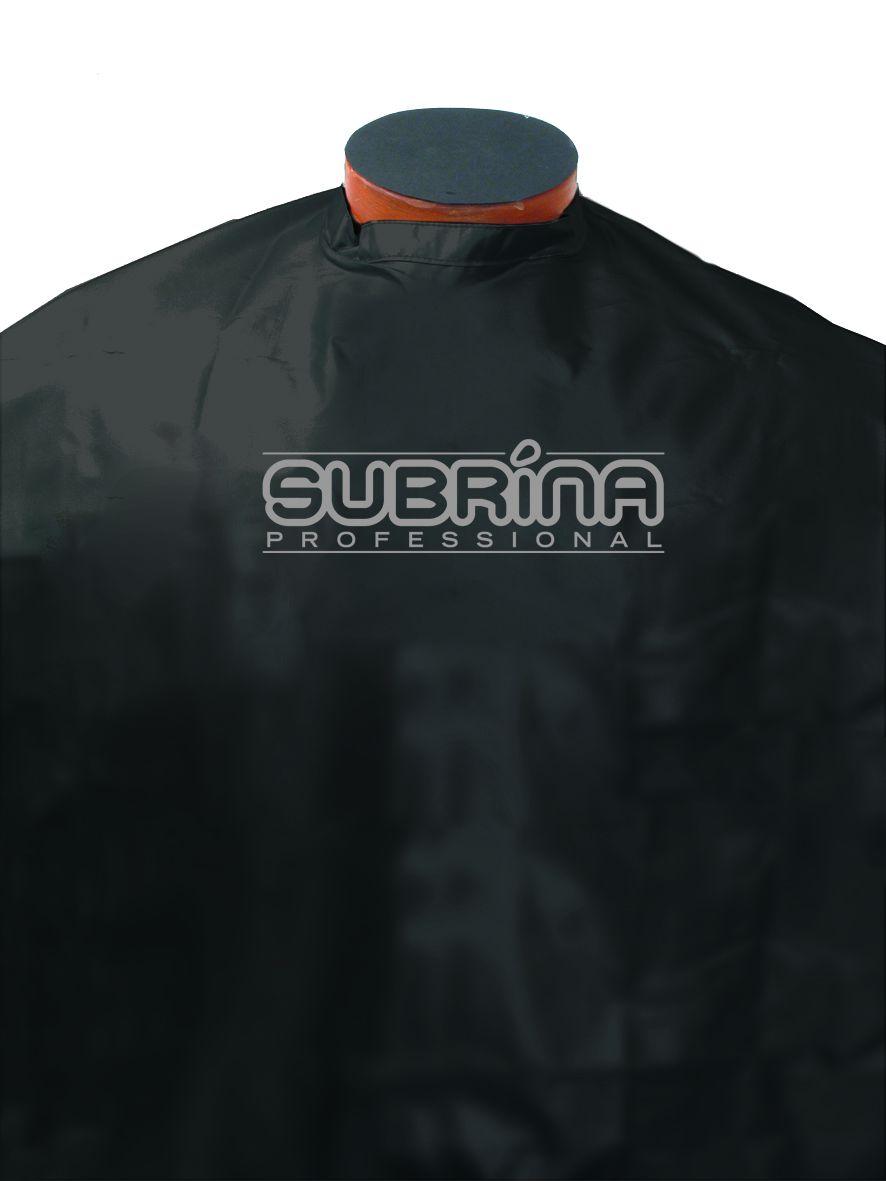 Kadeřnická pláštěnka Subrina Professional - Kadeřnická pláštěnka - černá