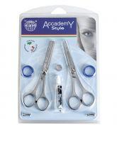 Kiepe Academy Style Set 2pc - Profesionální kadeřnické nůžky.
