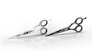 Kiepe HD Professional Black - Profesionální kadeřnické nůžky.
