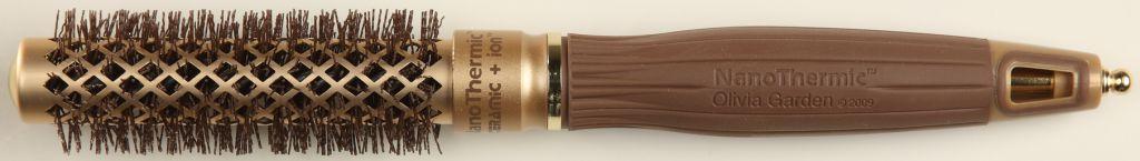 Olivia Garden Nano Thermic 18 - kartáč na vlasy - Profesionální kartáč na vlasy.
