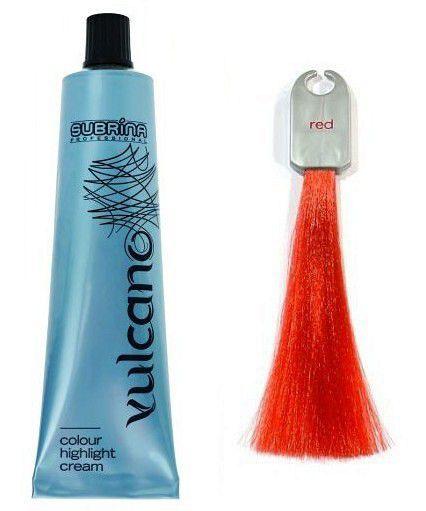 SUBRINA Vulcano Red - barevný melír červený