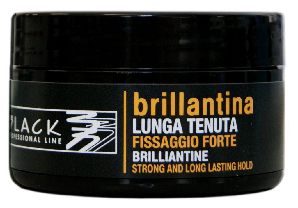 Black Brilliantine Strong And Long Lasting Hold 100 ml - brilantina na vlasy