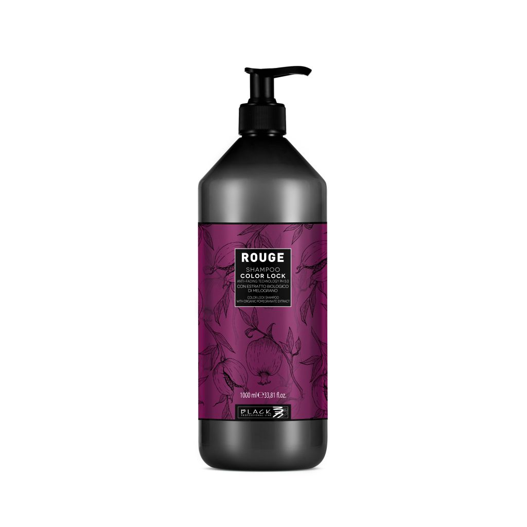 Black Rouge Shampoo Color Lock Šampon pro ochranu barvených vlasů 1000 ml
