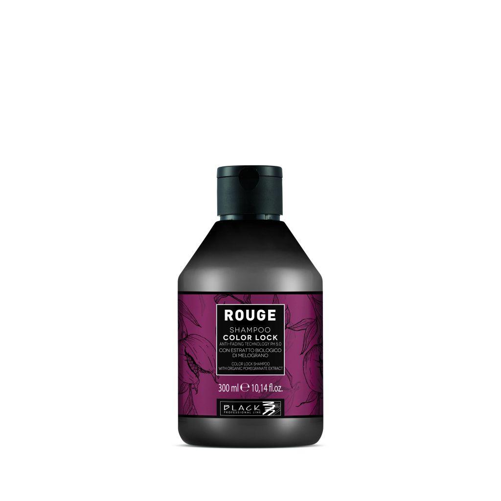 Black Rouge Shampoo Color Lock Šampon pro ochranu barvených vlasů 300 ml