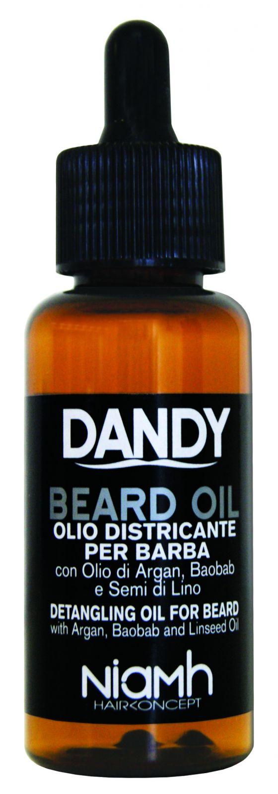 Niamh Hairkoncept Dandy Beard Oil 70 ml - olej na bradu a vousy Olej na bradu a vousy.