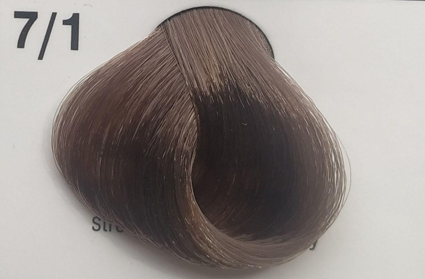 Přeliv na vlasy Subrina Senseo 7/1 - střední blond popelavá 60ml
