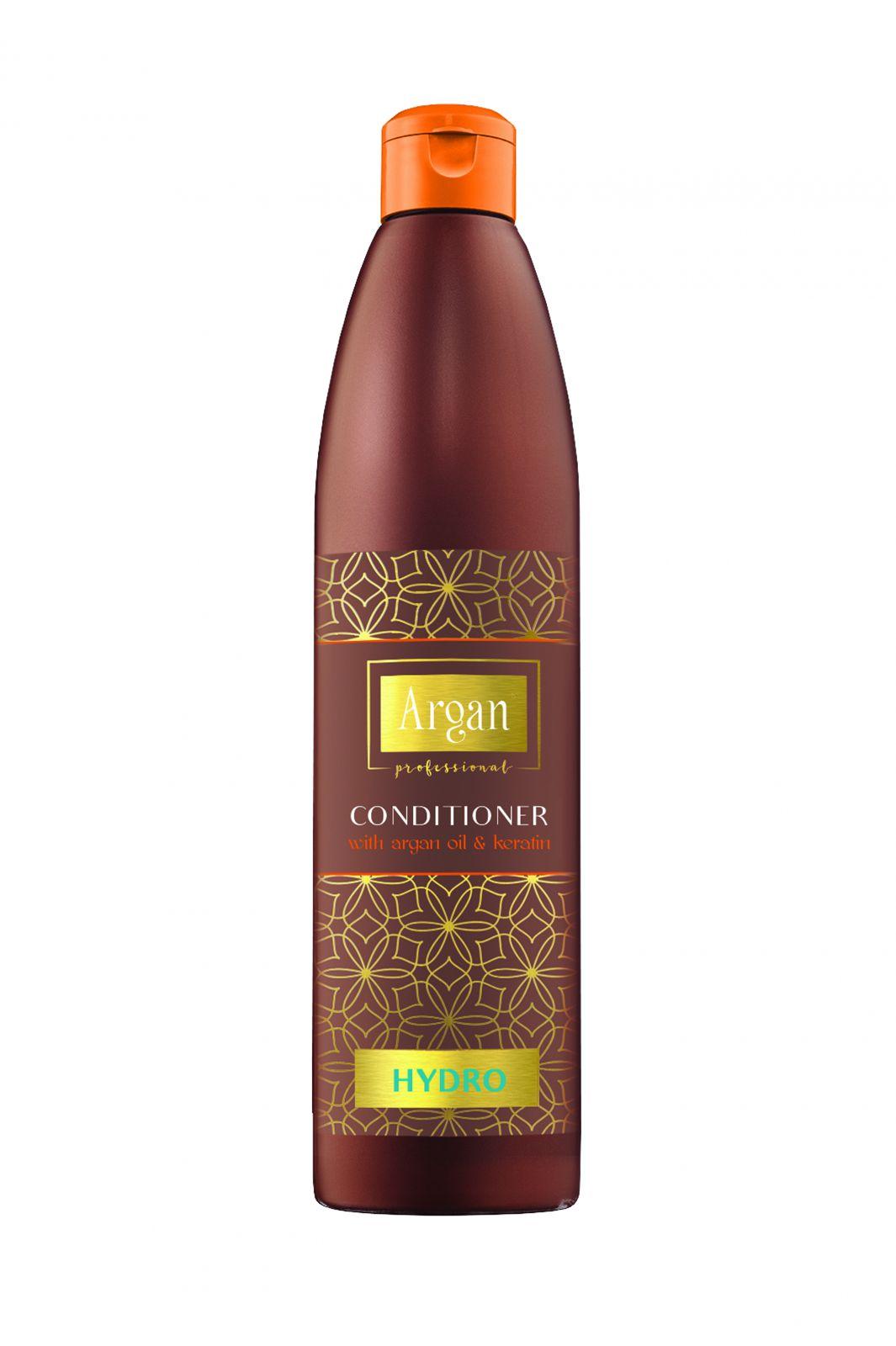Subrina Argan Hydro Conditioner 500 ml - Hydratační balzám na vlasy s arganovým olejem a keratinem