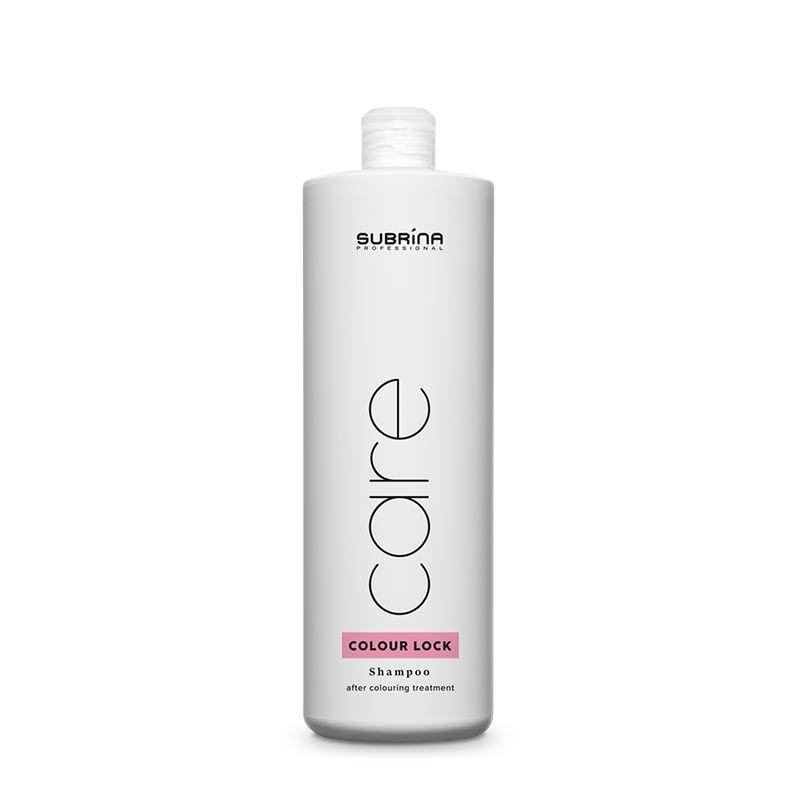 Subrina Care Colour Lock Shampoo 1lt - šampon pro fixaxi barvy