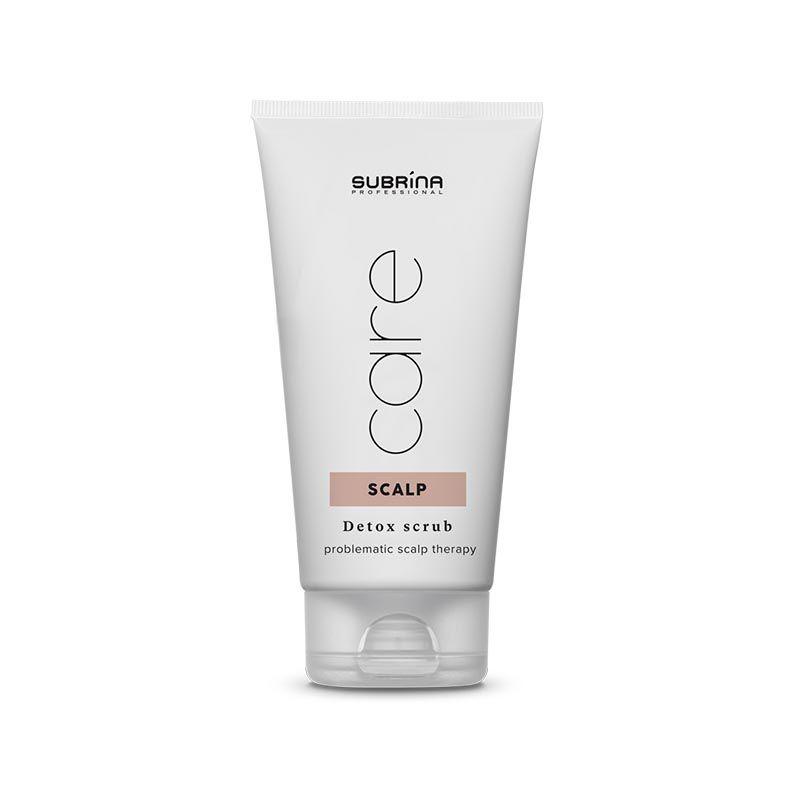 Subrina Care Detox Scalp Scrub 150 ml - Detoxický peeling z nové řady CARE