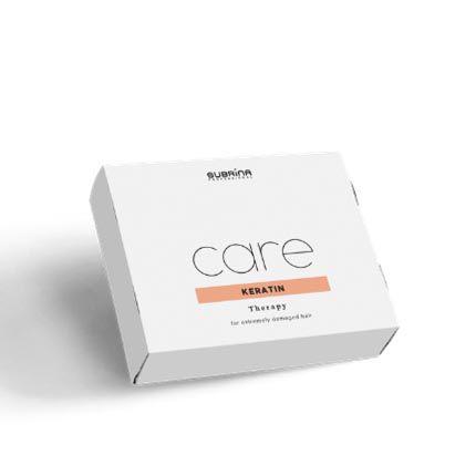 Subrina Care Keratin Therapy 6x10ml - Ampule pro extrémně poškozené vlasy a intenzivní péči o vlasy.