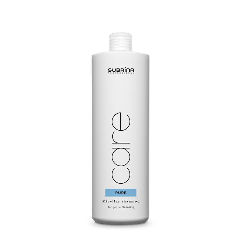 Subrina Care Micellar Cleansing Shampoo 1lt - Objemový micelární šampon jemně čistí vlasy