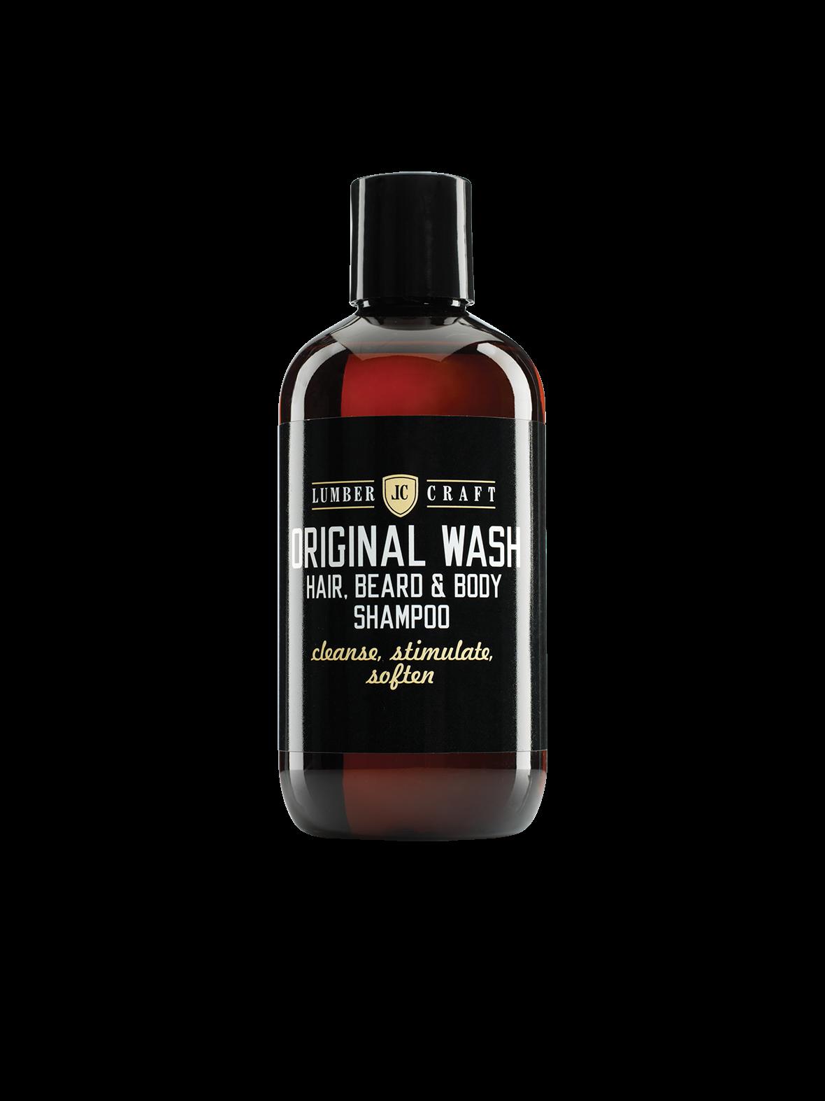 Lumber Craft Original Wash Shampoo - šampon na vlasy, vousy a tělo 250 ml Subrina